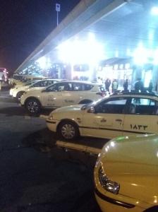 Taxicabs Tehran