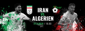 Algeria v Iran