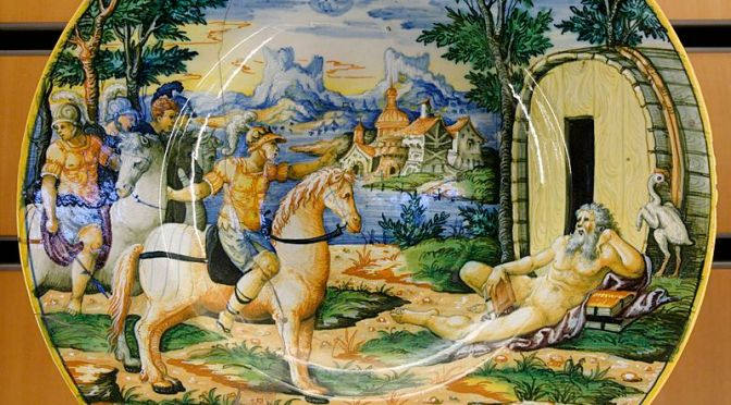 Alessandro e Diogene