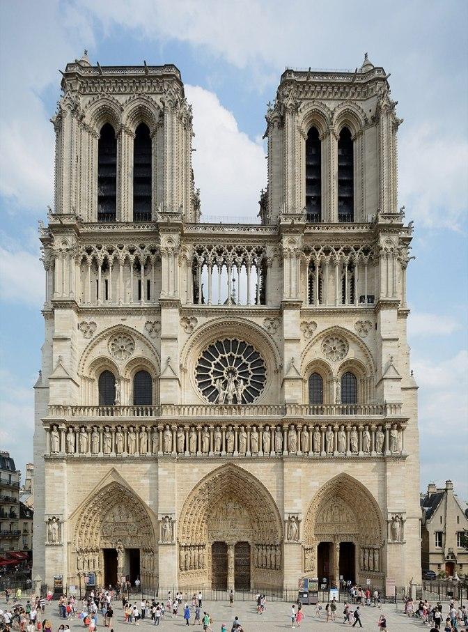 Le fiamme di Notre Dame